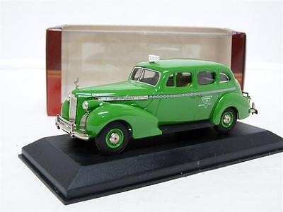 Rextoys 66 1/43 1940 Packard Super Eight Touring Sedan LA Taxi Diecast Model Car for sale  Canada