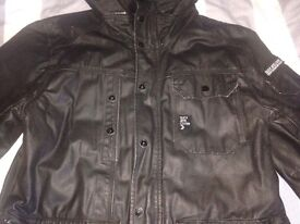 Duck and cover large men's jacket