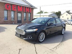 2014 Ford Fusion SE Leather Navi Roof Camera