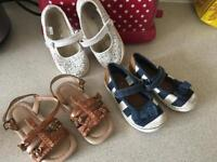 Next girls shoes infant size 6 + free shoes