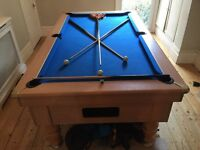 Full Size Pub Pool Table - Plus all seen pool accessories included