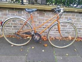 PEUGEOT LADIES MIXTE BIKE BRONZE