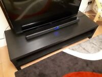 Black IKEA TV Stand/Table