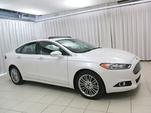 2016 Ford Fusion SE AWD ECOBOOST SEDAN w/ SUNROOF, HEATED SEATS
