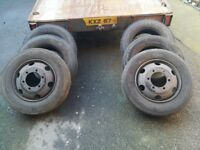 205 75 17.5 x2 215 75 17.5 x4 part worn lorry tyres