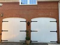 Solid wood Garage doors (stable door style)