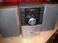 Sony hi-fi with dab radio