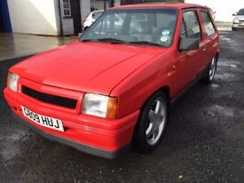 1989 vauxhall nova mk1 ,;;;;;;;;;;;;;OPEN TO OFFER......PRICE £ 2999 ONOPX/EXCH