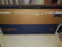 SAMSUNG 43 inch Smart 4K Ultra HD LED TV