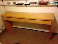 Lovely Desk 191cm Long, 90cm high and 43cm wide in very good condition