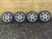 """Genuine Mercedes E W212 AMG 18"""" Staggered 8J 8.5J Michellin Tyres"""