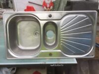 Franke Stainless Steel Double Drainer kitchen sink