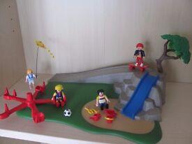 playmobil children's playground collection