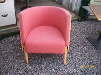 circular chairs solid wood £16.00 each
