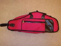 Alto Saxophone case with shoulder straps - Brand new, unused