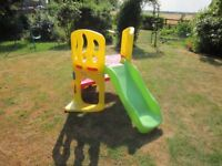 Little Tikes Climbing Frame and Slide.