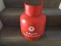 Calor 3.9kg propane gas bottle