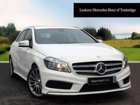 Mercedes-Benz A Class A180 CDI BLUEEFFICIENCY AMG SPORT (white) 2015-09-25