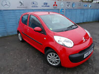 PART X DIRECT OFFERS VERY CLEAN CITROEN C1 998CC £20 YEAR TAX V.G.C NEW MOT+WARRANTY FINANCE ME !!