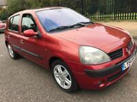 2004(54) Renault Clio Diynamique 16v 75bhp 1.2 Petrol