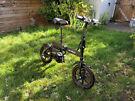 Electric folding bicycle (Brompton style bike)
