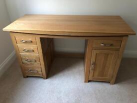 Oak Furniture Land solid oak desk