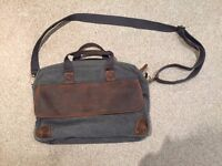 *** QUALITY BAG with LEATHER ***