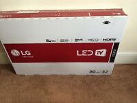 "32"" LG LED HD TV with built in FreeView"