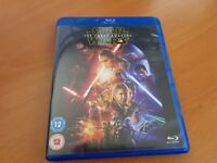 *** Bluray Movie: Star Wars: The Force Awakens (2 Discs) ***