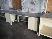 "Heavy duty work bench Type ""E"", second hand but in good order, other types elsewhere on Gumtree"