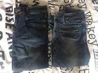 Ladies skinny jeans - size 6