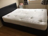 Double bed with orthopaedic matress