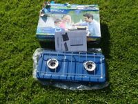 Camping Gas Base Camp 2 burner cooker. BRAND NEW AND UNUSED in its original packing. £10.