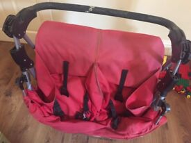 Sturdy Double pushchair