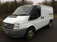 2007 FORD TRANSIT SWB T330 2.4 130 BHP REAR WHEEL DRIVE ONE OWNER FROM NEW WELL MAINTAINED JULY MOT