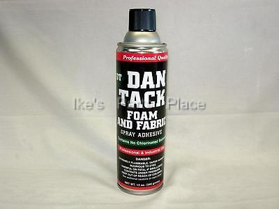Foam Fabric Spray Glueadhesive Dan Tack 10.2oz. Can