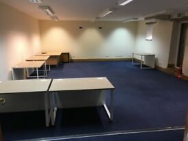 Large unfurnished office based in Newton St Loe. Rent includes electric/cleaning/tea/coffee/milk