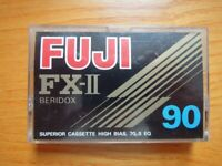 49 FUJI FX - II Beridox - C90 and 3 C90 ~ Cassettes 1979 - MADE IN JAPAN, used for sale  Southside, Glasgow