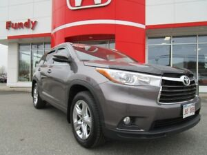 2014 Toyota Highlander Limited w/Navi, Heated and Ventilated Sea