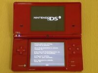 NINTENDO DSI .RED NEW RED NEW WIFI ,CAMERAS AND 11 GAMES.NOT BOXED