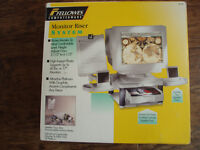 Monitor riser system, as new, in original box
