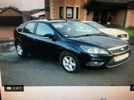FORD FOCUS (new model) 08 reg £2995