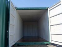 new storage container offered for rent - great for household or business use - drive up easy access
