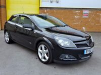 2009 BLACK Vauxhall Astra 1.7 CDTi (TURBO DIESEL) 16v SRi Sport Hatch 3dr