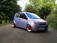 Daihatsu charade 1L, brilliant little car, modified, kei car