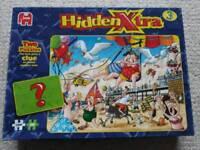Jumbo Hidden Xtra 3 1000 and 200 piece jigsaw puzzle