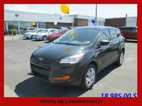 2013 FORD ESCAPE FWD ***INSPECTÉ PAR FORD 132 POINTS ***