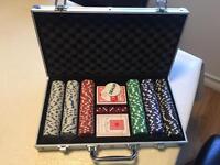 300 Chips/Piece Poker Set