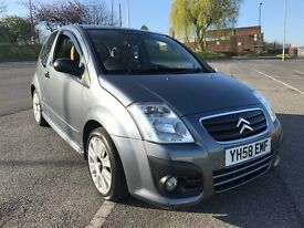 Citroen C2 1.6 16V Code Top Spec Leather Only 67000 Miles Absolute Fantastic Condition