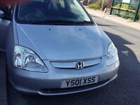 2001 honda civic with very low mileage